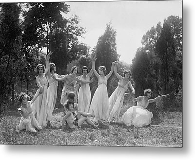 Dancers Of The National American Ballet Metal Print by Everett