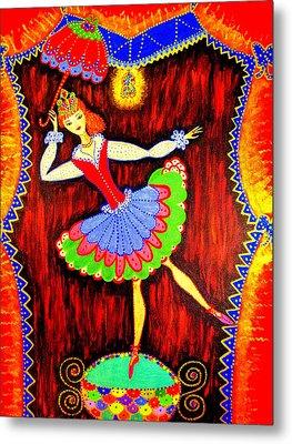 Dancing Doll Metal Print