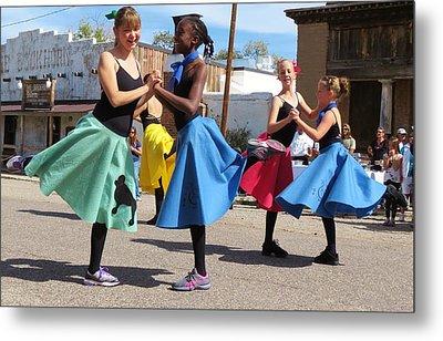 Dancing In The Streets Metal Print by Feva  Fotos