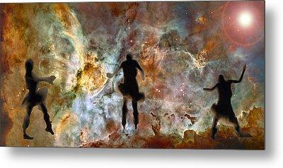 Dancing Nebula Metal Print
