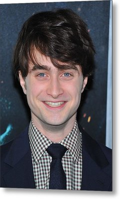 Daniel Radcliffe At Arrivals For Harry Metal Print