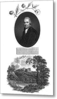 Daniel Rutherford, Scottish Chemist Metal Print by Science Source