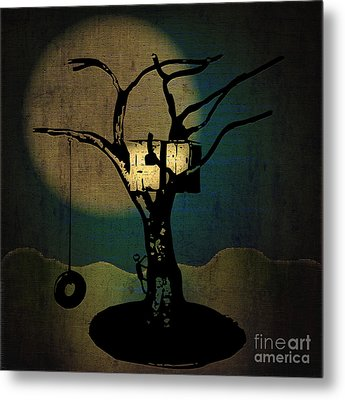 Dans Tree House Metal Print