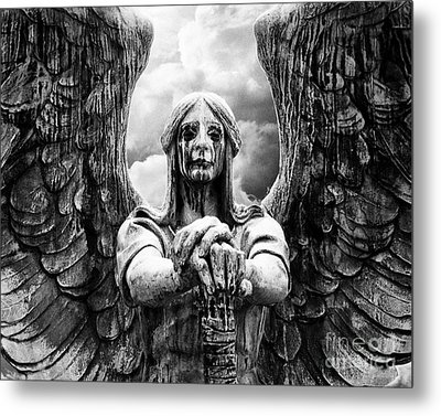 Dark Angel Warrior Metal Print
