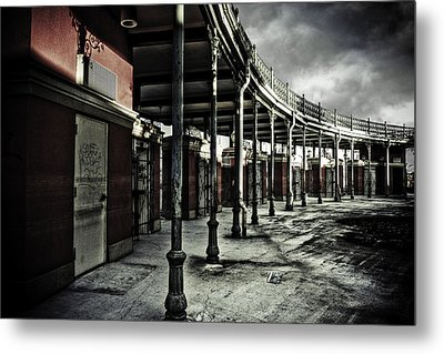 Dark Entrance Metal Print by Pixel Perfect by Michael Moore