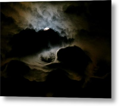Dark Moon Mystery Metal Print