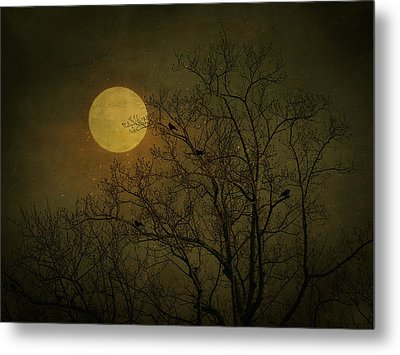 Metal Print featuring the photograph Dark Moon by Robin Dickinson