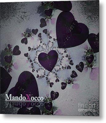 Dark Violet Metal Print