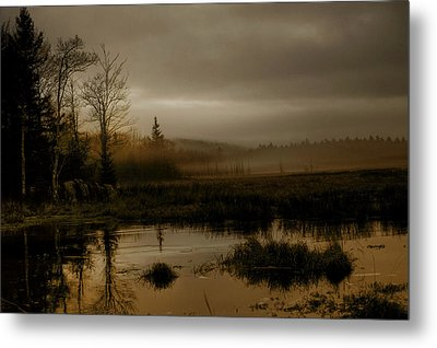 Darkness Approaches Metal Print