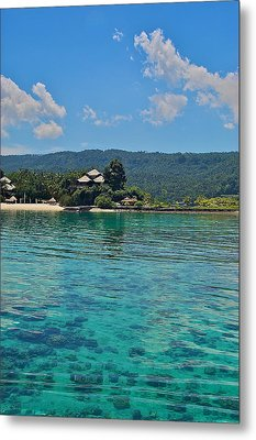 Davao Above And Below Metal Print by Arj Munoz