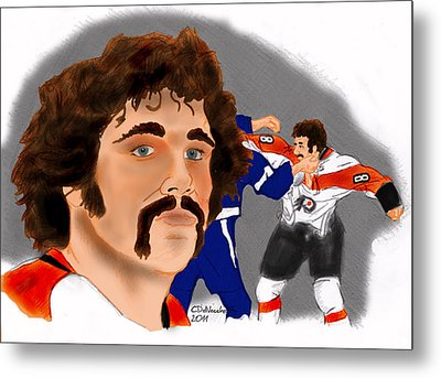 Dave Schultz- The Hammer Color Metal Print
