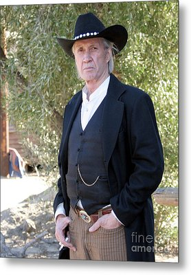 David Carradine Metal Print by Nina Prommer