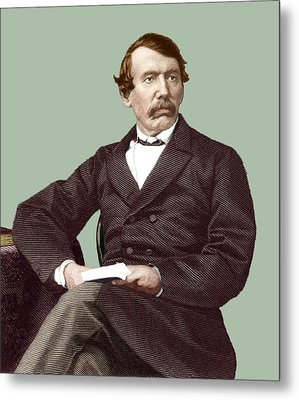 David Livingstone, Scottish Missionary Metal Print by Sheila Terry