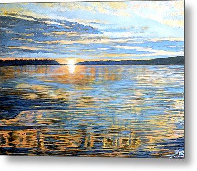 Davidson Quebec Metal Print by Tom Roderick