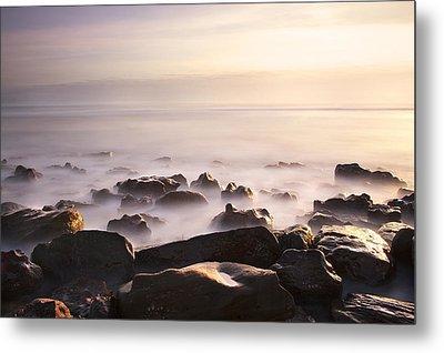 Dawn At Sea Metal Print by Svetlana Sewell