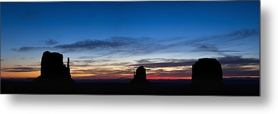 Dawn Breaking Over The Mittens Metal Print by Andrew Soundarajan