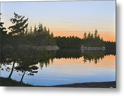 Dawns Early Light Metal Print by Kenneth M  Kirsch