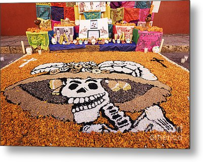 Day Of The Dead Art Metal Print by Jeremy Woodhouse