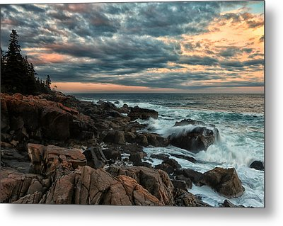 Day's End At Otter Point Metal Print