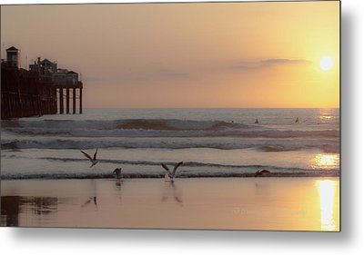 Day's End Metal Print by Dorothy Cunningham