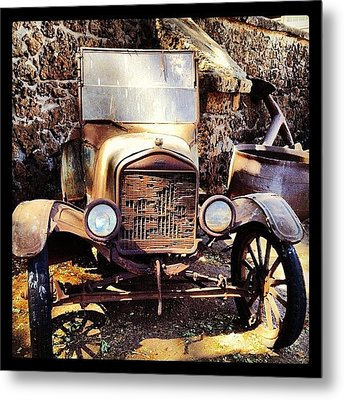 Days Of Old Metal Print by Darice Machel McGuire