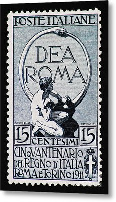 Metal Print featuring the photograph Dea Roma by Andy Prendy