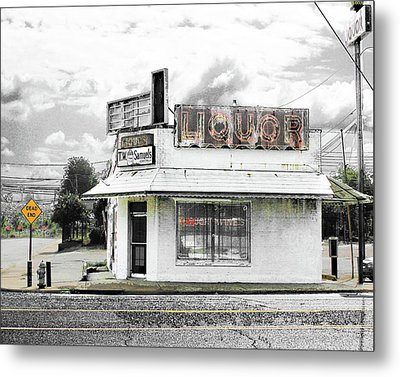 Metal Print featuring the photograph Dead End by Lizi Beard-Ward