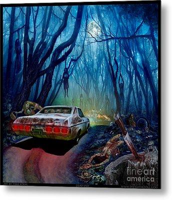 Dead End Metal Print by Tony Koehl