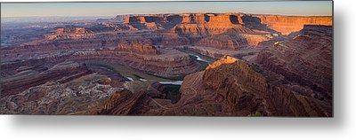 Dead Horse Point Panorama Metal Print by Andrew Soundarajan