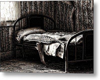 Dead Sleep Metal Print by Empty Wall