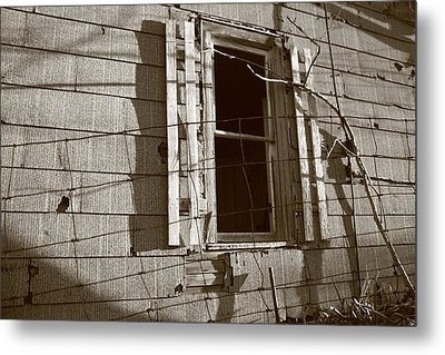 Dead Window Metal Print