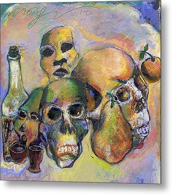 Death Art 2 Metal Print by Noredin Morgan