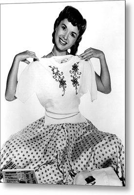 Debbie Reynolds, Portrait, Ca. 1950s Metal Print by Everett