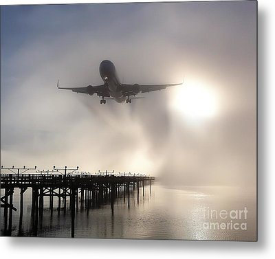 Metal Print featuring the photograph Decision Height by Alex Esguerra