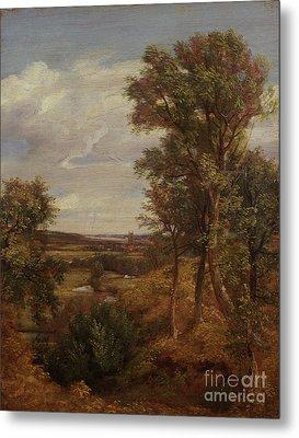 Dedham Vale Metal Print by John Constable