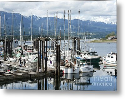 Metal Print featuring the photograph Deep Bay Harbor by Artist and Photographer Laura Wrede