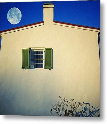 Deep Blue Allure Metal Print