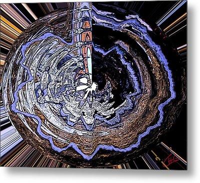 Deeper Life Circle  Works 2 Metal Print by Colette V Hera  Guggenheim