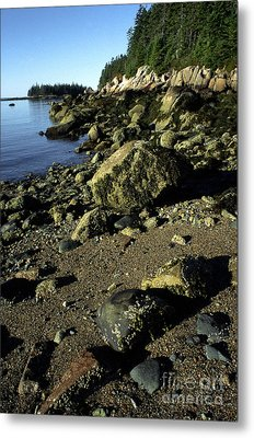 Deer Isle And Barred Island Metal Print by Thomas R Fletcher