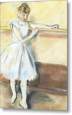 Degas's Ballerina Metal Print by Amanda Faries