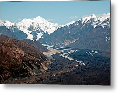 Metal Print featuring the photograph Denali National Park by Gary Rose