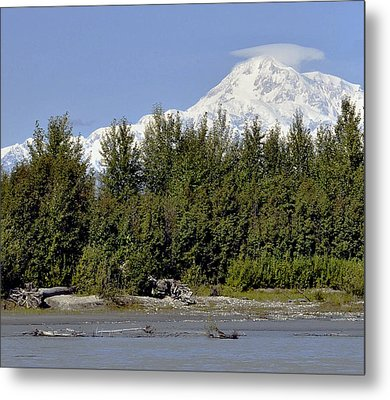 Denali View Metal Print