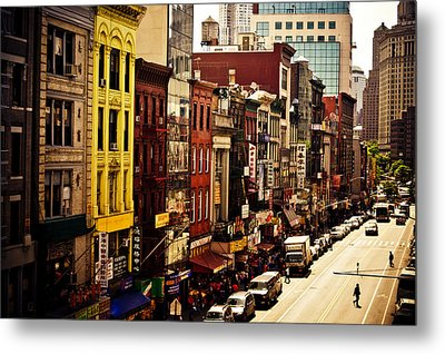 Density - Above Chinatown - New York City Metal Print by Vivienne Gucwa