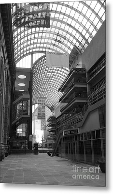 Denver Center For Performing Arts Metal Print by David Bearden