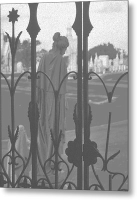 Metal Print featuring the photograph Departing Sorrow by Cheri Randolph