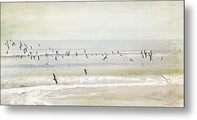Metal Print featuring the photograph Departure     by Karen Lynch