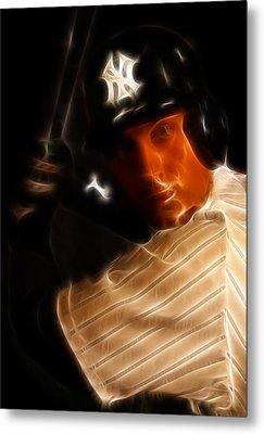 Derek Jeter - New York Yankees - Baseball  Metal Print