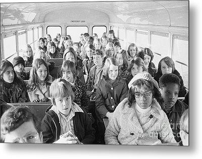 Desegregation: Busing, 1973 Metal Print by Granger