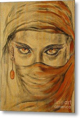 Desert Amber Metal Print by Iglika Milcheva-Godfrey