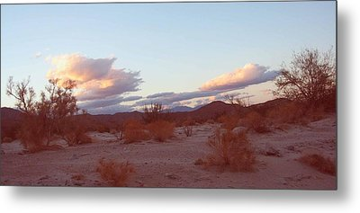 Desert And Sky Metal Print by Naxart Studio